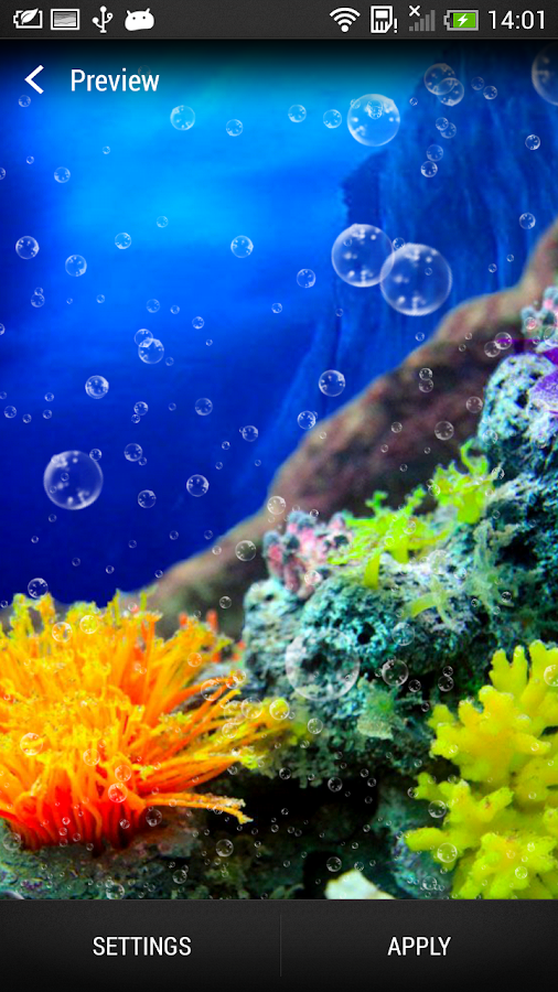 Coral Reef Live Wallpaper- screenshot