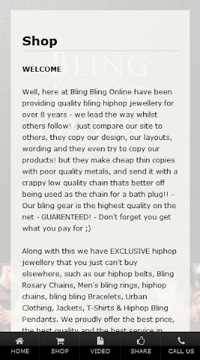 【免費購物App】Bling Bling Online Ltd-APP點子