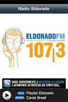 Screenshot of Notícias da Rádio Eldorado FM