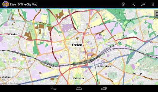 Essen Offline City Map- screenshot thumbnail