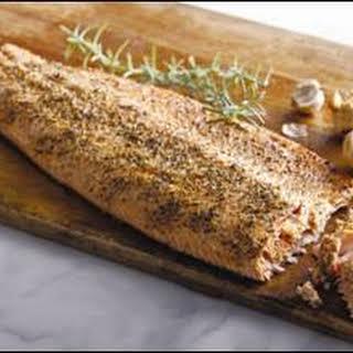 Rosemary Garlic Salmon.
