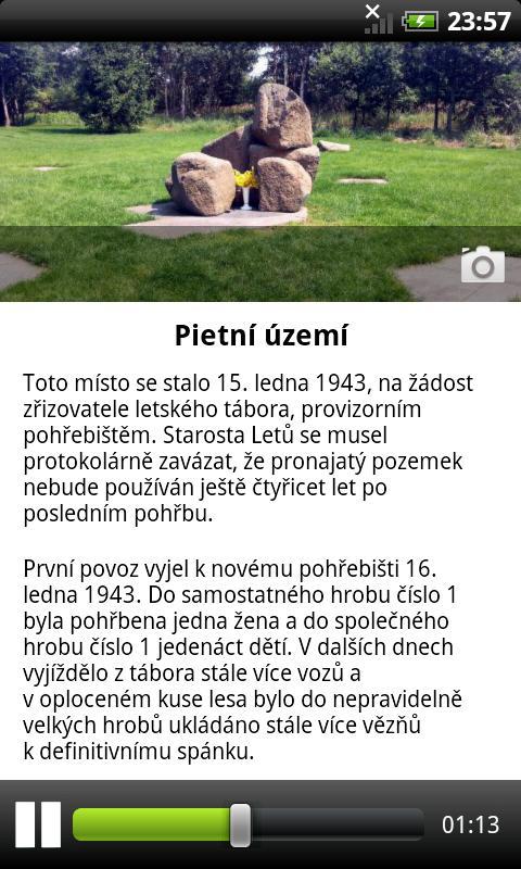 Muzeum Lety- screenshot