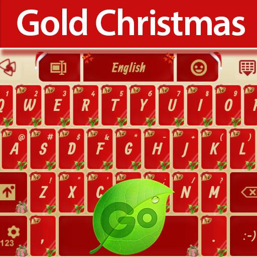 娱乐のGOキーボードゴールドクリスマス LOGO-記事Game