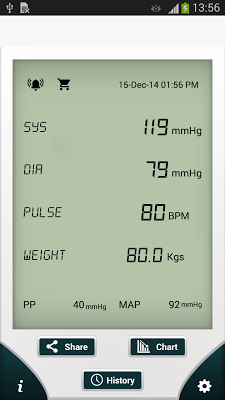 Blood Pressure (SmartBP) - screenshot