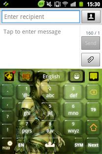 玩個人化App|德魯伊戰士鍵盤免費|APP試玩