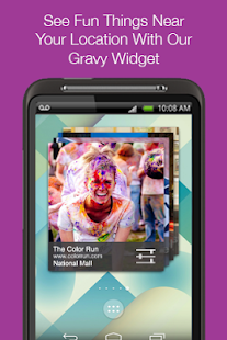 Gravy: fun local events nearby- screenshot thumbnail