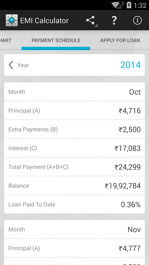 Car loan calculator for android 11