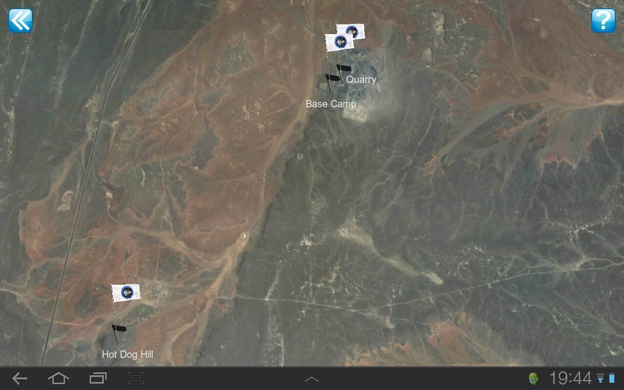 NASA Desert RATS Virtual Site- screenshot