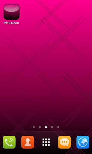 Pink Neon Live Wallpaper
