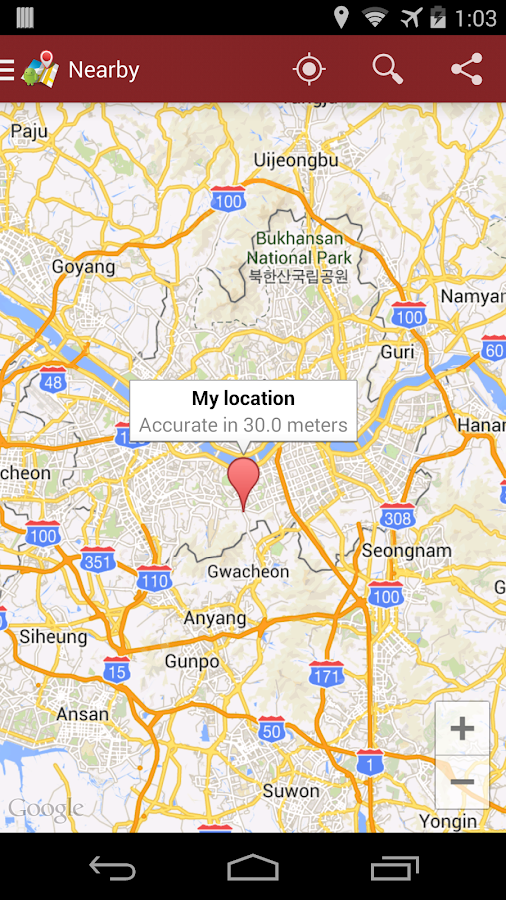MyDirections-Google Map ext. - screenshot