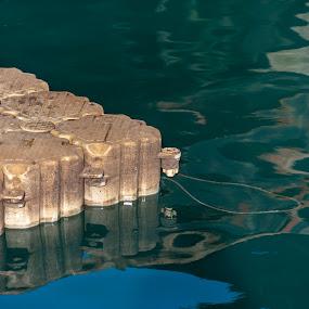 Floatsam or jetsam? by Jacek Steplewski - Artistic Objects Industrial Objects ( water, water reflection, floating, foam )
