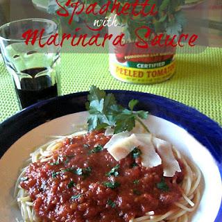Marinara Sauce - Easy and Light.