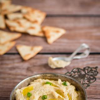 Homemade Flaxseed Hummus.