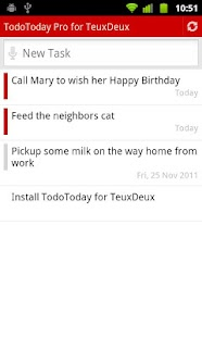 TodoToday Pro for TeuxDeux - screenshot thumbnail