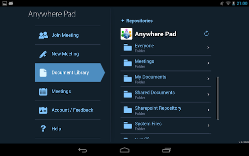 Anywhere Pad-Meet, Collaborate - screenshot thumbnail