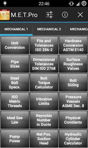Mechanical Eng. Toolbox Pro