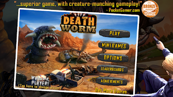 Screenshot of Death Worm Free
