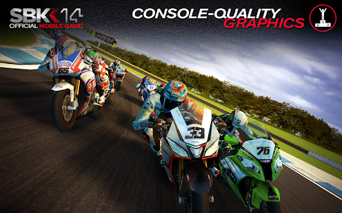 SBK14 Official Mobile Game Screenshot 1