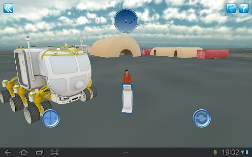 NASA Desert RATS Virtual Site- screenshot thumbnail