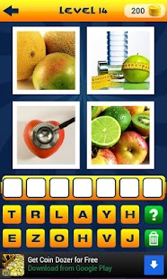 4 Pics 1 Word More Words Level 3 - Game Solver
