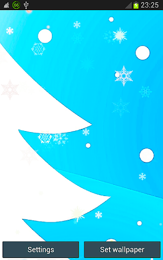 Blue Christmas Tree Lights HD