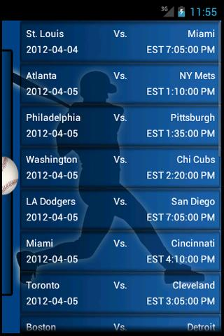 MLB Predictor - screenshot