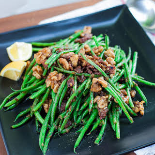 Green Bean + Bacon Salad.