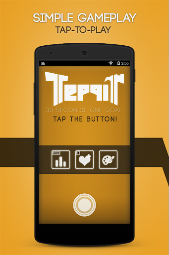 Teppit Tap the button