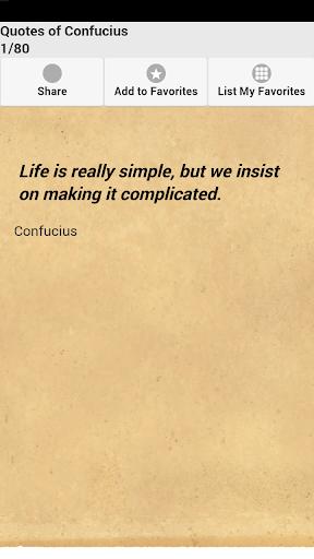玩免費娛樂APP|下載Quotes of Confucius app不用錢|硬是要APP