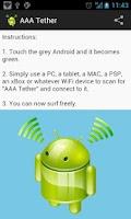 Screenshot of Easy Wi-Fi Tether