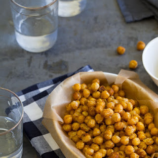 Curry Fried Chickpeas.