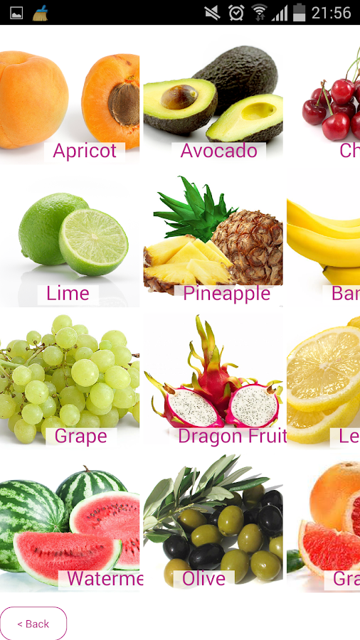 ImageMatchup - Fruit for Kids - screenshot