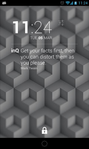 Dashclock InQuotes Extension