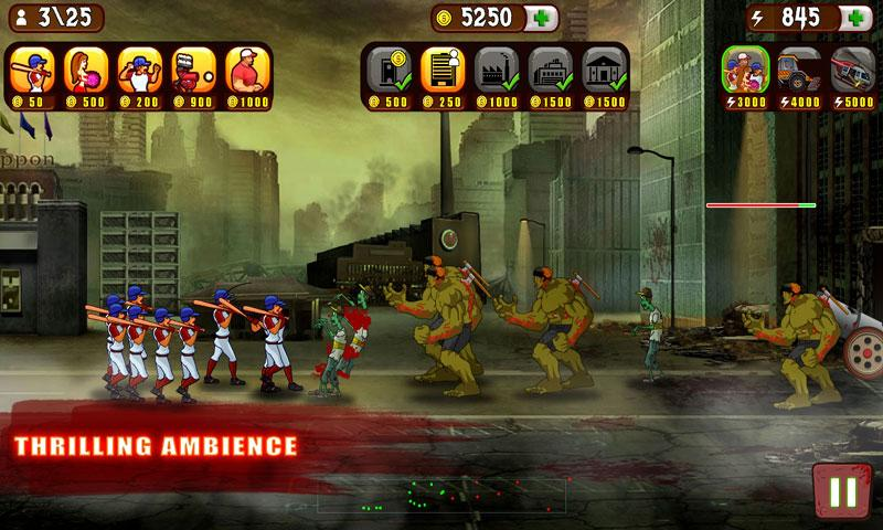 Baseball Vs Zombies - screenshot