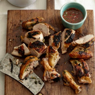 Poulet's Gai Yang with Bird Chile Dipping Sauce