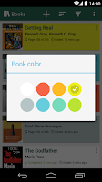 Screenshot of Book Tracker