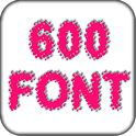 600 Fonts Galaxy icon