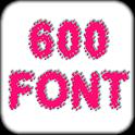 600 Fonts Galaxy icon