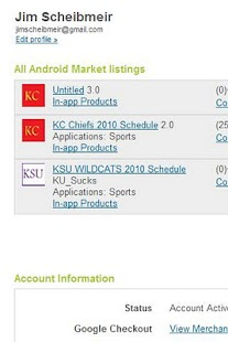 KC Chiefs 2011 Schedule - screenshot thumbnail