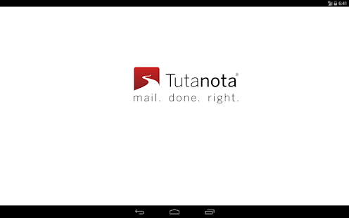 Tutanota: simply secure emails Screenshot 5