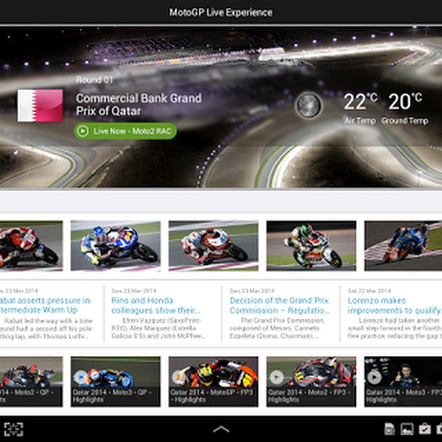 Data +MotoGP Live Experience 2014 v1.1.8 | apkbom