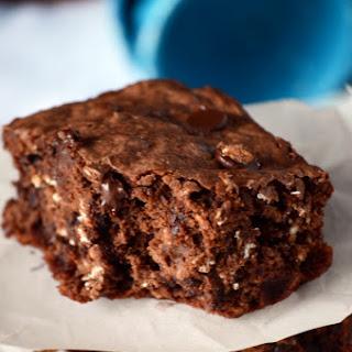 Oatmeal Chocolate Chip Brownies.