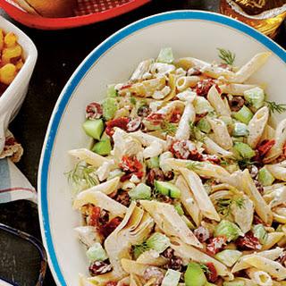Tangy Tzatziki Pasta Salad.