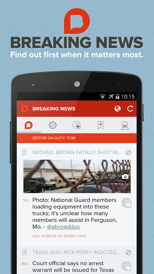Breaking News - screenshot