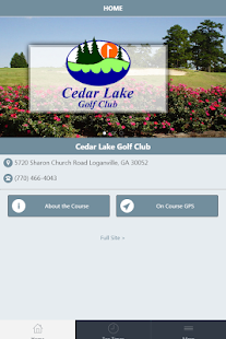 Cedar Lake Golf Club screenshot 1