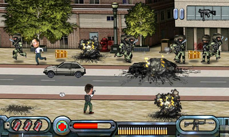 Street Shootting Gun War - screenshot