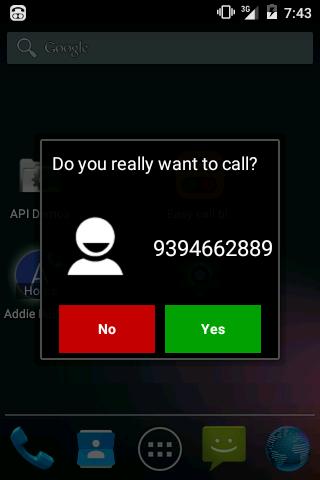 Easy call blocker - screenshot