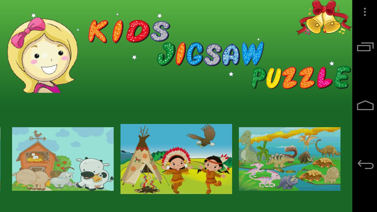 Kids Jigsaw Puzzle Lite - screenshot