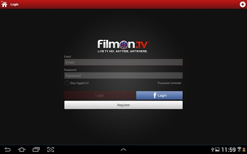 FilmOn EU Live TV Chromecast Screenshot 8