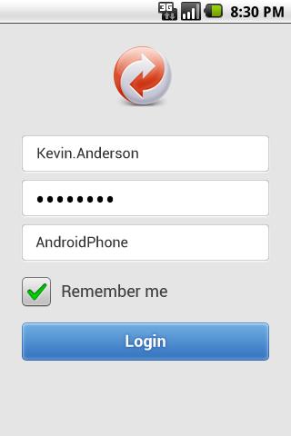 GoodSync Server screenshot #1